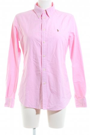 Polo Ralph Lauren Langarmhemd pink Casual-Look