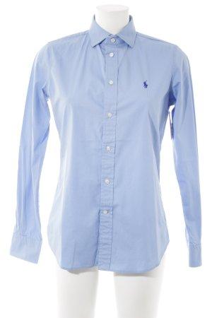 Polo Ralph Lauren Langarmhemd kornblumenblau Casual-Look