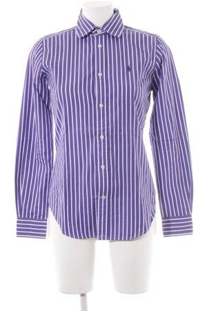 Polo Ralph Lauren Langarmhemd lila-weiß Streifenmuster Business-Look
