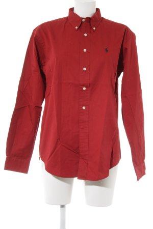 Polo Ralph Lauren Langarmhemd rot Casual-Look