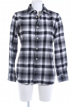 Polo Ralph Lauren Langarmhemd schwarz-weiß Karomuster Casual-Look