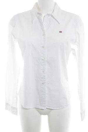 Polo Ralph Lauren Camisa de manga larga blanco look casual