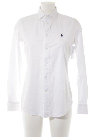 Polo Ralph Lauren Langarmhemd weiß College-Look