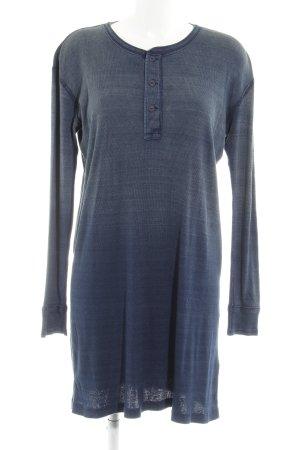Polo Ralph Lauren Langarmkleid blau Farbverlauf Casual-Look