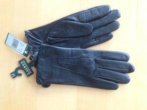 Polo Ralph Lauren Leren handschoenen zwart