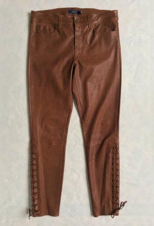 Polo Ralph Lauren, Lederhose, braun, 42 (US 12),  neu, € 1.250,-