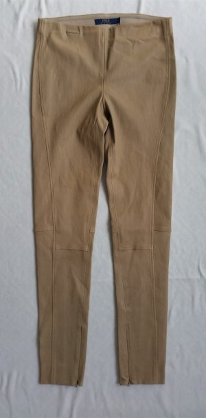 Polo Ralph Lauren Legging brun sable cuir