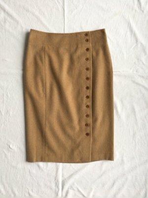 Polo Ralph Lauren, Midirock, camel, 36 (US 6), Kamelhaar, neu, € 450,-