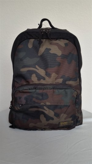 Polo Ralph Lauren, Military Backpack, Camouflage, Nylon, neu