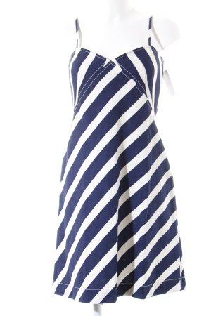 Polo Ralph Lauren Minikleid blau-creme Streifenmuster Marine-Look