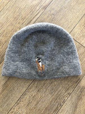 Polo Ralph Lauren Chapeau en tricot gris foncé-gris