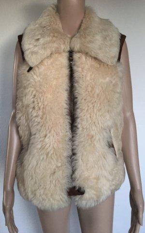 Polo Ralph Lauren, Ostler Shearling Vest, cream, L, neu, € 1.800,-