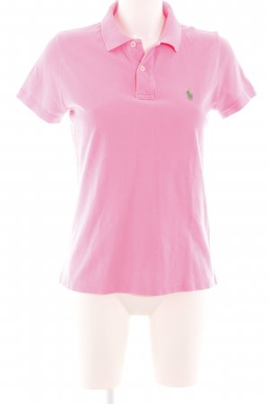 Polo Ralph Lauren Camiseta tipo polo rosa-verde look casual