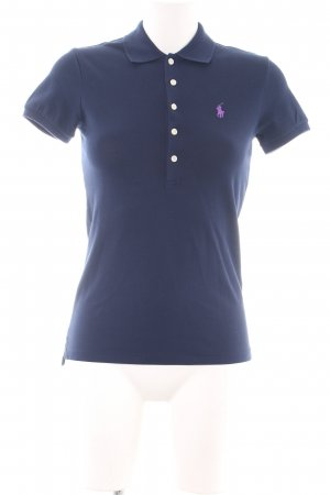 Polo Ralph Lauren Polo-Shirt blau Casual-Look