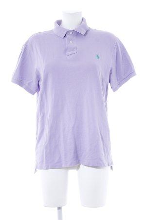 Polo Ralph Lauren Polo-Shirt blasslila Casual-Look