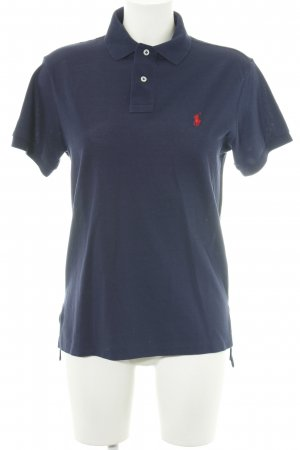 Polo Ralph Lauren Polo-Shirt blau-rot Casual-Look