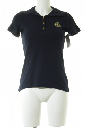 Polo Ralph Lauren Polo-Shirt dunkelblau Business-Look