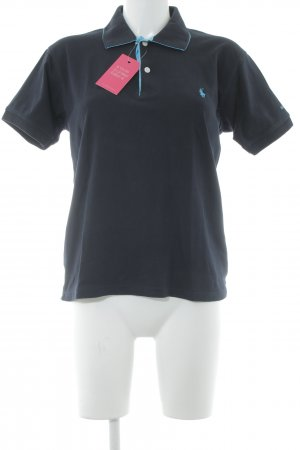 Polo Ralph Lauren Polo-Shirt dunkelblau Casual-Look