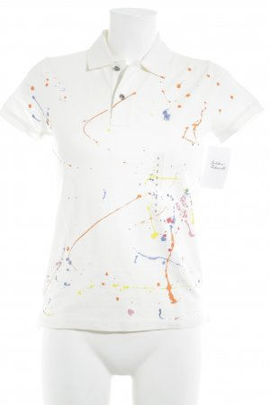 Polo Ralph Lauren Polo-Shirt Farbtupfermuster Casual-Look