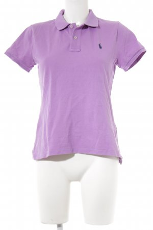 Polo Ralph Lauren Polo-Shirt flieder Casual-Look