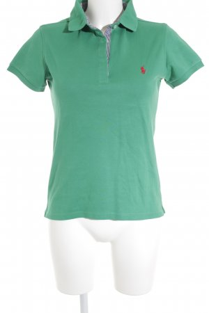 Polo Ralph Lauren Polo-Shirt grün Casual-Look