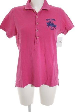 Polo Ralph Lauren Polo-Shirt magenta Casual-Look