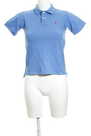 Polo Ralph Lauren Camiseta tipo polo azul neón look casual