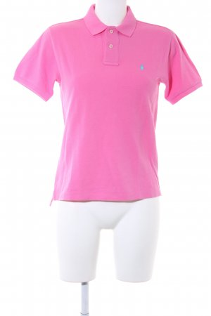 Polo Ralph Lauren Polo-Shirt rosa Casual-Look