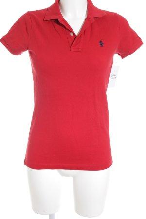 Polo Ralph Lauren Polo-Shirt rot Business-Look