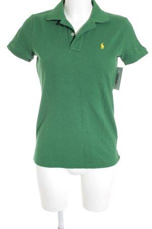 Polo Ralph Lauren Polo-Shirt waldgrün klassischer Stil