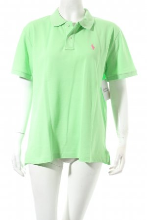 Polo Ralph Lauren Polo-Shirt wiesengrün Casual-Look