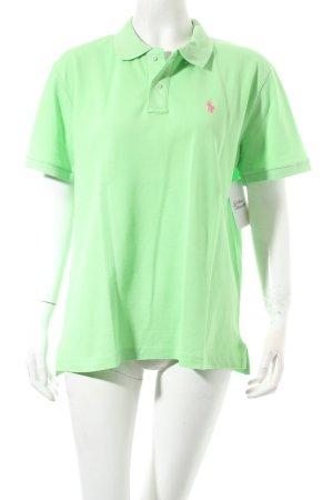 Polo Ralph Lauren Camiseta tipo polo verde pradera look casual