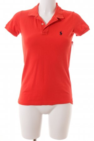 Polo Ralph Lauren Polo-Shirt ziegelrot Casual-Look