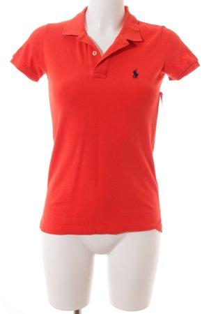 Polo Ralph Lauren Polo-Shirt ziegelrot Casual-Look