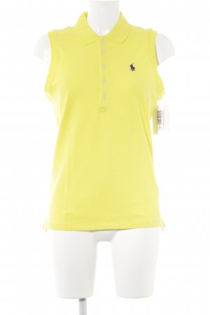 Polo Ralph Lauren Top Polo jaune style athlétique