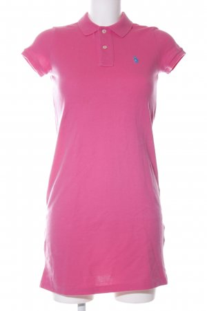Polo Ralph Lauren Vestido tipo polo rosa look casual