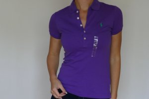 Polo Ralph Lauren Poloshirt Shirt Neu 36 S Lila Poloshirt paloma purple