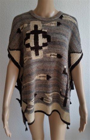 Polo Ralph Lauren, Poncho/Cape, S, beige-braun, hand knit, neu, € 650,-