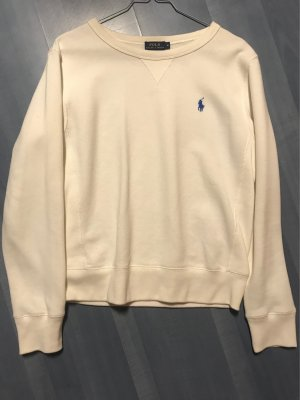 Polo Ralph Lauren Wool Sweater natural white-blue