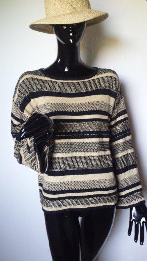 Polo Ralph Lauren, Pullover schwarz/beige Gr. M, NEU