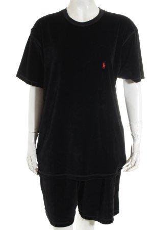 Polo Ralph Lauren Pyjama zwart casual uitstraling