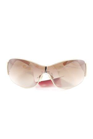Polo Ralph Lauren Retro Brille goldfarben Elegant