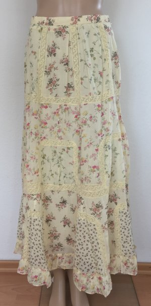 Polo Ralph Lauren, Rock, cream, floral, 36 (US 6), Cotton, neu, € 500,-