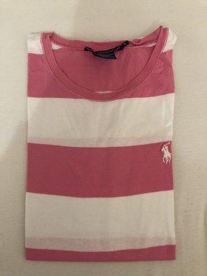 Polo Ralph Lauren rosa gestreiftes t-Shirt