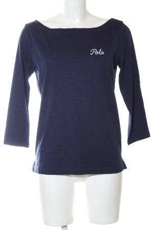 Polo Ralph Lauren Rundhalspullover blau-weiß Casual-Look