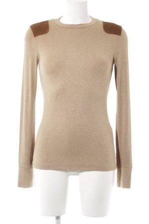 Polo Ralph Lauren Kraagloze sweater beige-bruin casual uitstraling