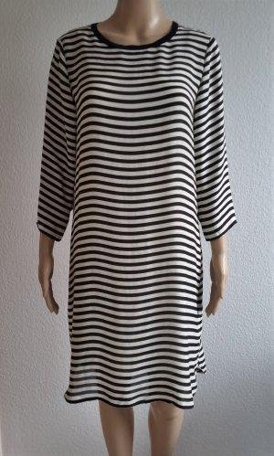 Polo Ralph Lauren, Seidenkleid, 3/4-Ärmel, 38 (US 8), schwarz-weiß, neu, € 350,-
