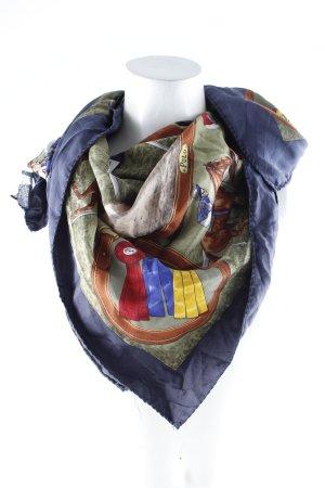Polo Ralph Lauren Seidentuch Allover-Druck Brit-Look