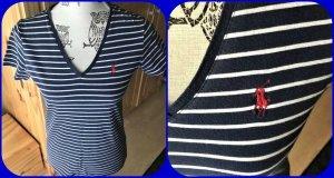 Polo Ralph Lauren Shirt,Bluse Blau/Weiß Gr.S