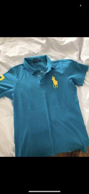 Polo Ralph Lauren Polo jaune-bleu fluo
